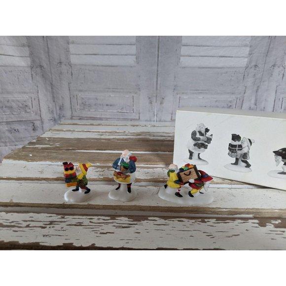 Dept 56 56022 toy maker elves heritage village San